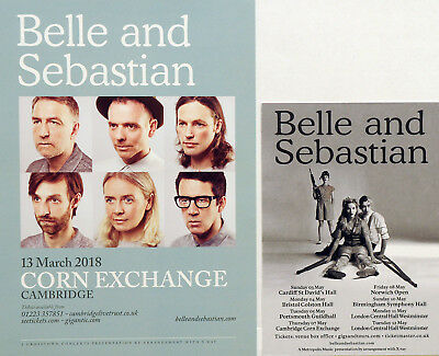 Belle And Sebastian Flyers X 2 - 2018 And 2015 Tours
