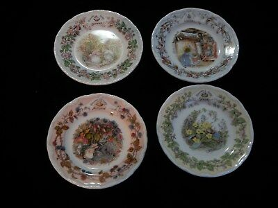 """Royal Doulton """"Brambly Hedge Gift Collection THE FOUR SEASONS"""