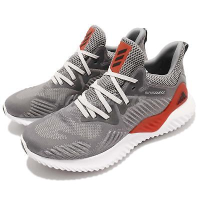 super popular 857a5 caa9d adidas Alphabounce Beyond M Grey Red White Continental Men Running Shoes  AC8625