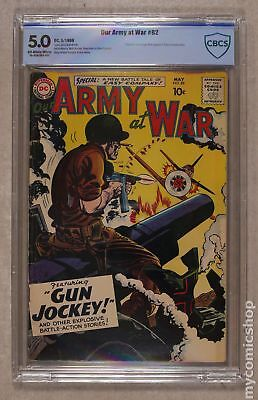 Our Army at War #82 1959 CBCS 5.0