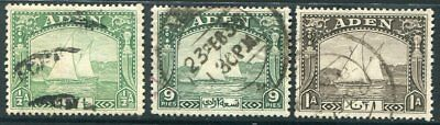 ADEN  Very Nice Used DHOW Issues  UPTOWN 39265