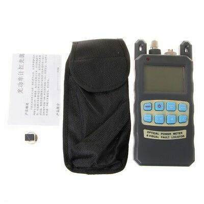 All-In-One Fiber Optical Power Meter 10mw 10km Cable Tester Visual Fault Locator