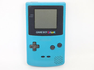JUNK Nintendo Game Boy Color Gameboy BLUE Console CGB-001 Not Working 6716 gb