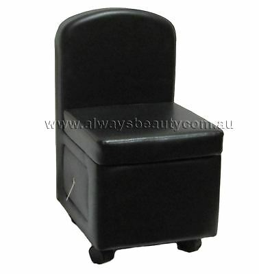 Pedicure Podiatrists Stool Chair Mini Seat With Back Rest Professional Use New