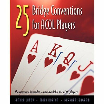 25 Bridge Conventions for ACOL Players - Paperback NEW Landy, Sandra 2006-10-01