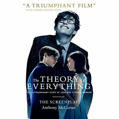 The Theory of Everything: The Screenplay - Paperback NEW Anthony McCarte 2014-12