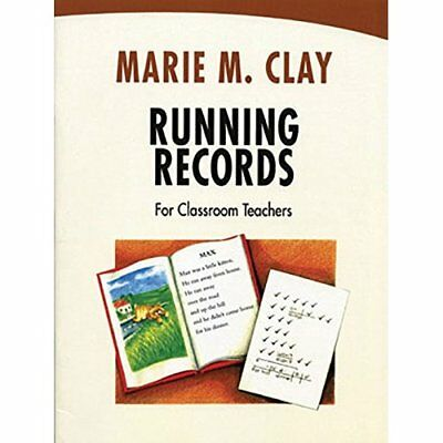 Running Records for Classroom Teachers (Marie Clay) - Paperback NEW Marie M. Cla