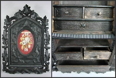 german carved wood pharmacy cabinet wooden carved 1880
