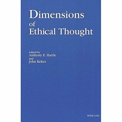 Dimensions of Ethical Thought - Paperback NEW Anthony E Hartl 1993-10-01
