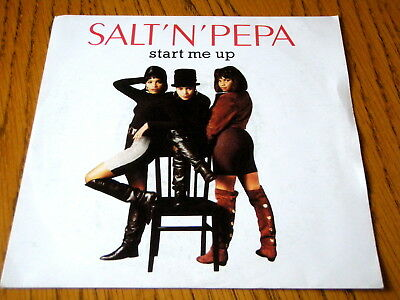 "Salt-N-Pepa - Start Me Up  7"" Vinyl Ps"