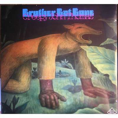 creepy john thomas - brother bat bone - LP- reissue