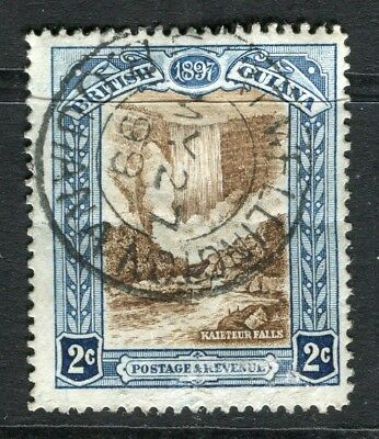BRITISH GUIANA; 1898 early Jubilee issue fine used 2c. value fair Postmark