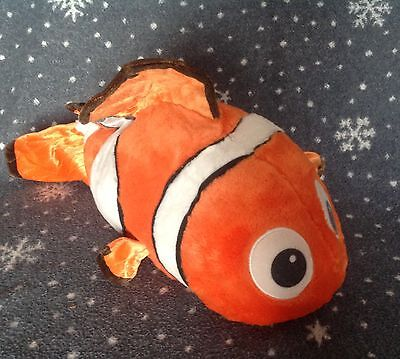 """Disney Store Pixar Finding Nemo  Large 20"""" Tall Soft Toy Excellent Condition"""