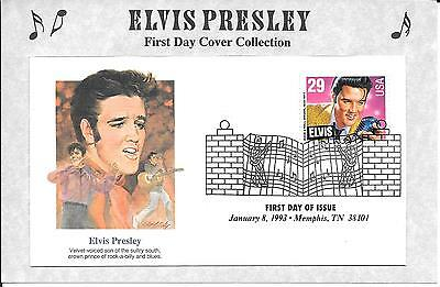 Elvis Presley - First Day Cover Collection - 8 January 1993 - 29C - Graceland
