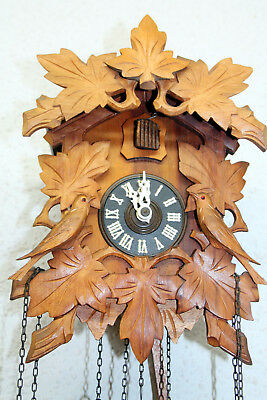 Old Cuckoo Clock Wall clock Chime Cuckoo Black Forest *