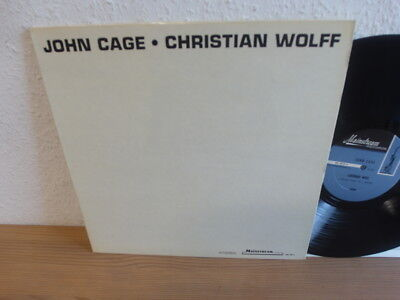 JOHN CAGE CHRISTIAN WOLFF s/t LP Avant Garde Electronic Contemporary Sound