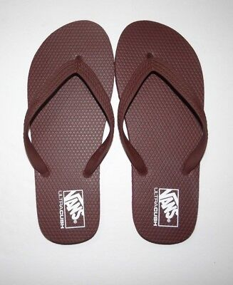 New Vans Mens Hanelei Ultra Cush Flip Flops Sandals Shoes Size 9 EU 42 UK 8 7b73f5c20