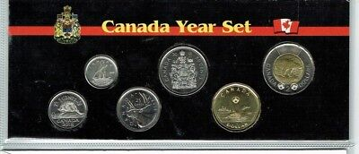 2018 Canadian Brilliant Uncirculated Canadian Six Coin Year Set in Nice Display!
