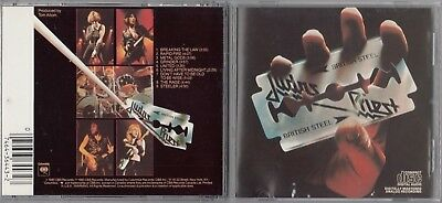 Judas Priest - British Steel  (CD, Columbia) 1990 CK 36443 DADC EARLY PRESS