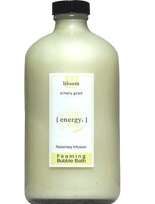 Bloom Energy Rosemary Infusion  Bubble Bath Simply Good