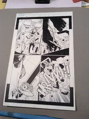 Adam KUBERT- Ultimate Fantastic Four #13 page 19 - Original Art