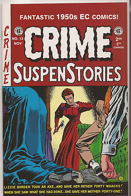 CRIME SUSPENSTORIES # 13 * Reprints Classic E.C. Stories