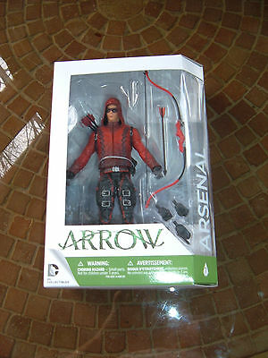 "Dc Collectibles / The Cw ""arrow"" Arsenal Action Figure! Mib!!!"