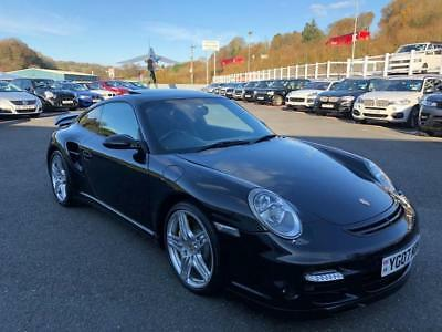 2007 07 Porsche 911 Turbo 997 3.6 Tip-Tronic Auto Coupe Basalt Black  High Spec