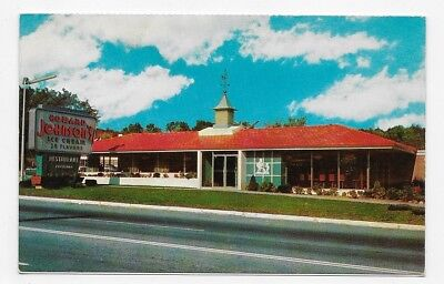 HOWARD JOHNSON'S MOTOR LODGES List Of Lodges In U.S.A. Post Card #2415