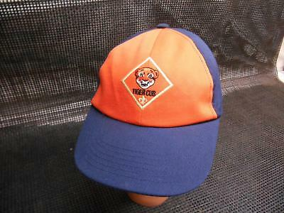 "Old Vtg BOY SCOUTS of America BSA ""TIGER CUB"" Baseball CAP HAT Advertising"