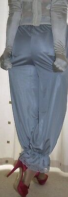 Vintage inspired Victorian~Edwardian style silver bloomers~pettipants~culottes
