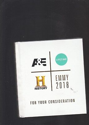 A&E,Lifetime, History 2018 Emmy Fyc Package-9 Discs, 24 Shows