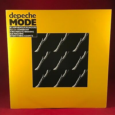 "DEPECHE MODE Blasphemous Rumours 1984 UK 12"" vinyl single EXCELLENT CONDITION D"