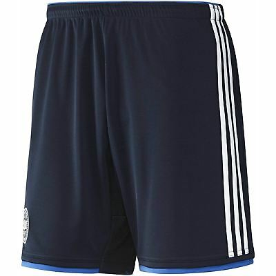 adidas DENMARK FOOTBALL SHORTS AWAY NAVY BLUE M L TRAINING WORLD CUP