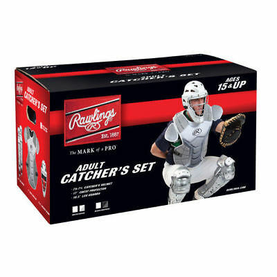 Rawlings VCSA-W/SIL Catcher's Sets - Ages