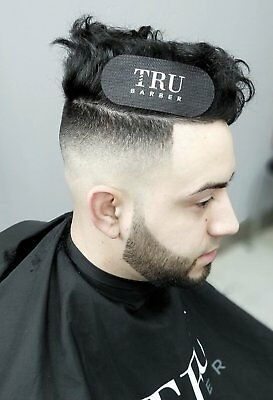 TruBarber Tru Barber Hair Grippers - Great For Fading & No Clips - Black / White