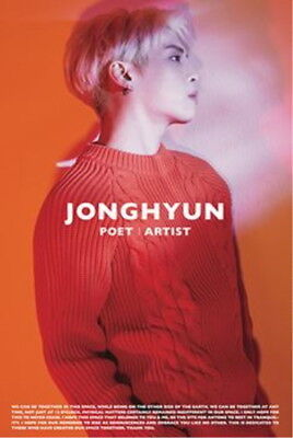 JONGHYUN (SHINee) -  POET | ARTIST [ORIGINAL POSTER] *NEW* K-POP 1ST