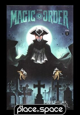 The Magic Order #1E - A Place In Space Exclusive Variant (Wk24)