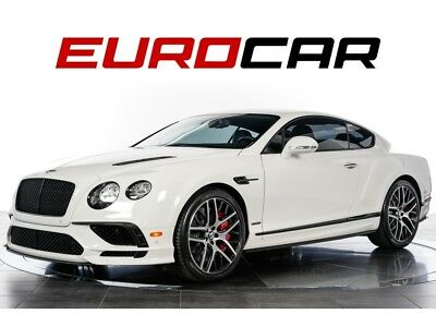 Continental GT Supersports (RARE w/ only 500 miles!) 2017 Bentley Continental GT Supersports - ONLY 500 MILES, RARE, 700 HORSEPOWER!