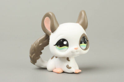 Littlest Pet Shop Gray Spotted Chinchilla #1018 LPS Vintage