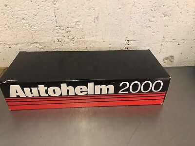 AUTOHELM 2000 AUTOPILOT CONTROL & TILLER BRAND NEW in BOX