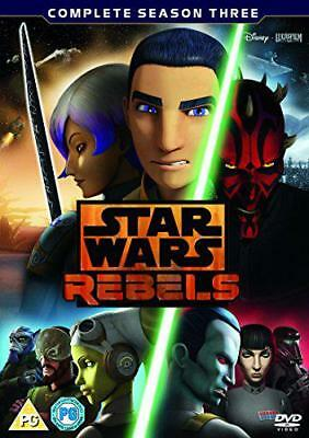 Star Wars Rebels Stagione 3 [DVD ], DVD 8717418513825 NUOVO