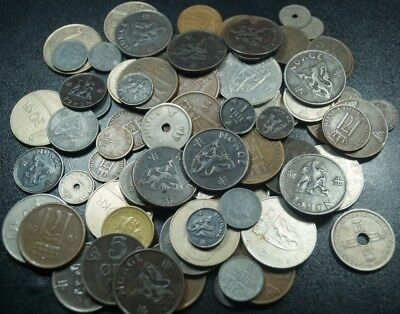 Lot, Norway - 89 Mix Coins