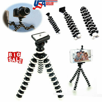 Mini Tripod Bubble Octopus Flexible Stand Gorilla Pod Gopro Hero/DV/SLR/Phone US
