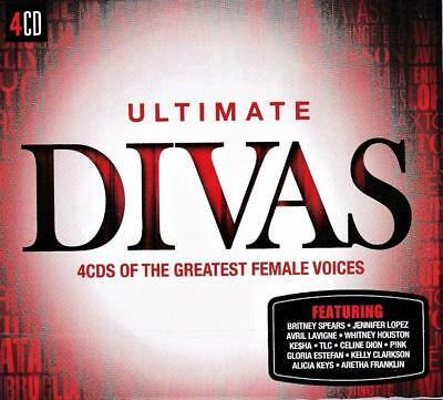 Ultimate Divas - Various Artists (New Sealed 4Cd )