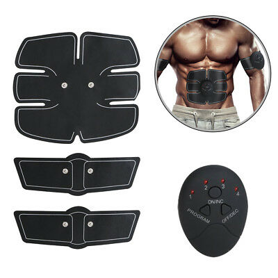 ABS Ultimate Simulator EMS Training Body Arm Abdominal Muscle Exerciser Home US