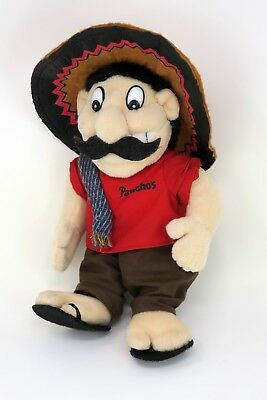 """Pancho's Mexican Restaurant Plush Doll Advertising Promo 9"""" Collectible Toy"""