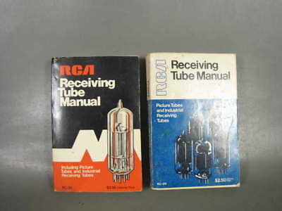 2 Vintage Original Rca Receiving Tube Manuals # Rc-29 (1973) & Rc-30 (1975)