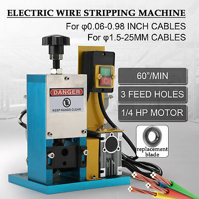 Automatic Stripper Wire Stripping Scrap Cable Machine For Scrap Copper Recycling