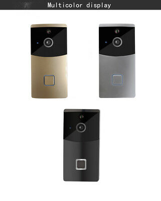 Visible Doorbell Video Surveillance Home Alarm Phone Intercom WiFi Remote 3Color